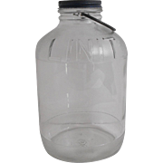 Linit Starch Bottle with Original Cap and bail