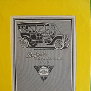 Packard Ad from Mussey Magazine: Circa 1910