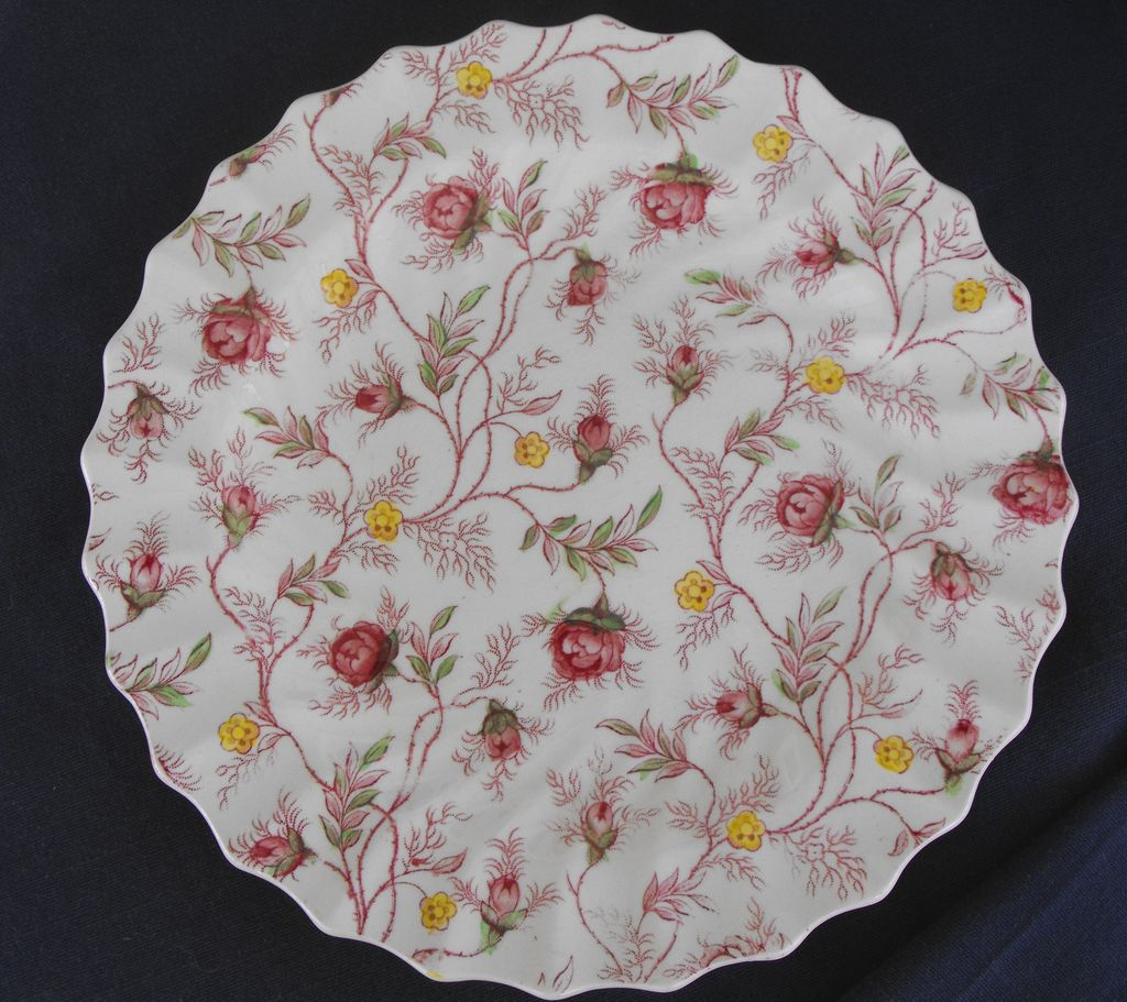 Copeland Spode: Rosebud Chintz Salads