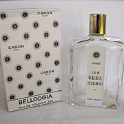Cologne Bottle Bellodgia Caron Paris