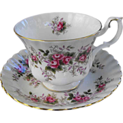 Royal Albert cup and saucer  (5 available)