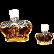 Perfume Bottle Prince Matchabelli Stradivari   -Golden Jubilee Circa: 1976