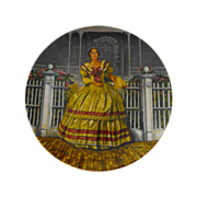 Collector Plate: Gone With The Wind: Melanie            Circa: 1980