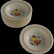 Vernonware Fruit Basket by Metlox fruit bowl           circa 1970