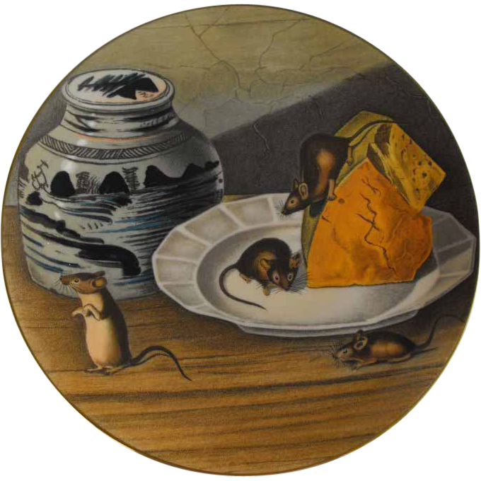 Gorham plate the american wildlife heritage house mouse for American classic house mouse