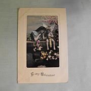 Postcard: Valentine                                       Circa: 1909