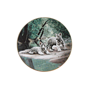 W. S. George  Nature's Playmates Collector Plate  C 1991