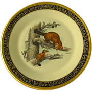 Boehm Woodland Wildlife Plate by Lenox                 1981