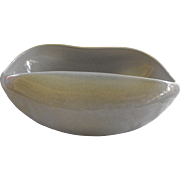 American Modern by Russel Wright  Granite Grey Salad Bowl