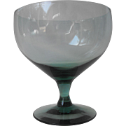 American Modern - seafoam Goblet  by Russel Wright    Circa 1951