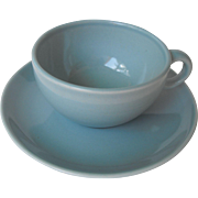 Casual Blue by Russel Wright  Cup and Saucer