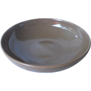 "Casual Brown 8"" vegetable bowl by Russel Wright"