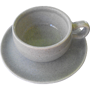 American Modern - granite grey demitasse by Russel Wright