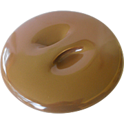 Casual Brown Recess Lid for 8 inch casserole by Russel Wright
