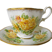 Royal Albert Tea Rose cup and saucer