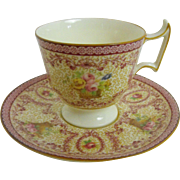 Royal Doulton demitasse cup and saucer