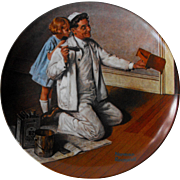 """The Painter"" from Knowles Rockwell Heritage Collection"
