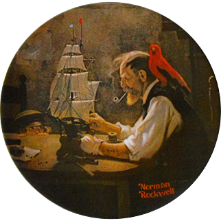 """The Ship Builder"" from The Rockwell Heritage Collection by Knowles"