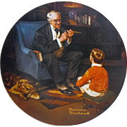 """The Tycoon"" from Rockwell Heritage Collection by Knowles"