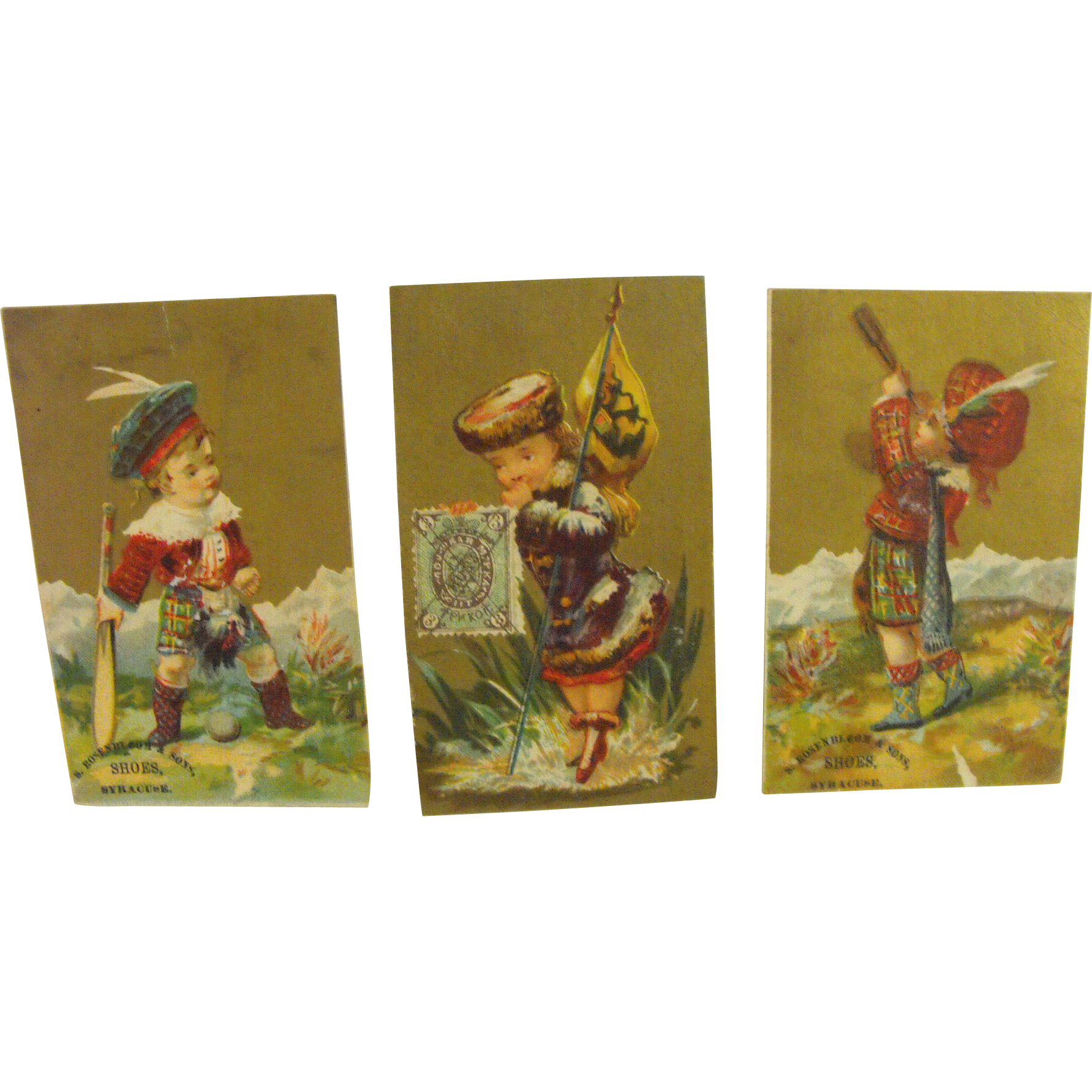 19th Century Trade Cards (3)