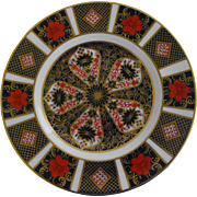 Royal Crown Derby Bread and Butter in Old Imari