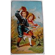 Trade Card: Ariosa Coffee; Circa 19th Century