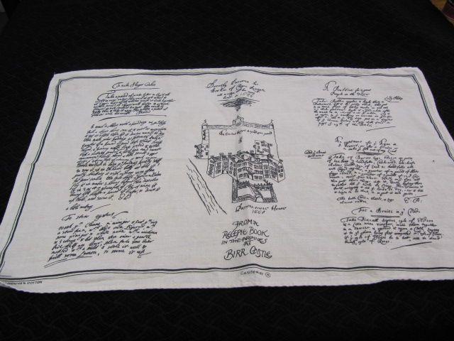 Souvenir Towel Birr Castle County Offaly Ireland