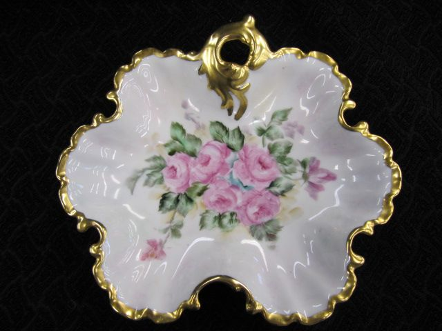 Lovely Hand Painted Fancy Bowl with Gold
