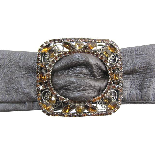 Juliana D&E - DeLizza & Elster Buckle with leather belt