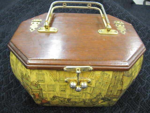 Vintage Anton Pieck handbag