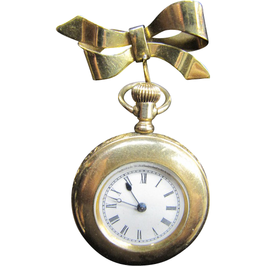 Lovely Elgin Pendant Watch 1893