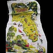 Florida Collectible Souvenir Kitchen Towel