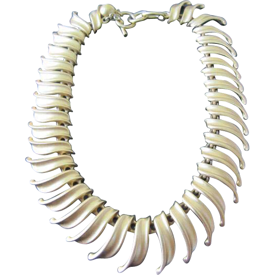 Anne Klein Brushed Goldtone Necklace