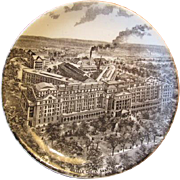 Souvenir Plate of the Battle Creek Sanitarium - Boulenger & Co. France
