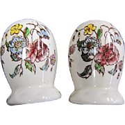 Vernon Kilns Salt and Pepper Shakers May Flower