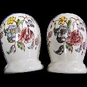 Vernon Kilns Salt and Pepper Shakers May Flower