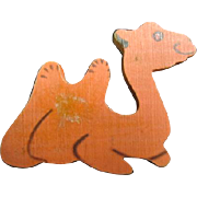 Old Time Hand Made Camel Pin