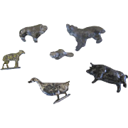 Collection of Small Metal Animals