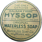 The Only Genuine Balsam Fibre Hyssop - Original Waterless Soap Co., Milwaukee WI