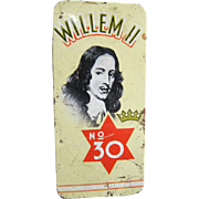 Willem ll  No. 30  Cigarillos Tin