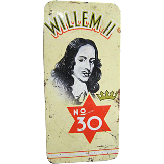 Willem ll  No. 30  Cigarillos Tin
