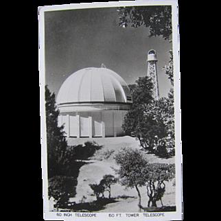 Mt Wilson California 60 Inch Telescope