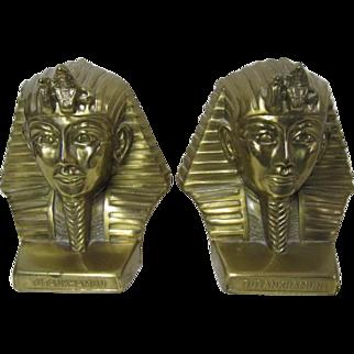 Tutankhamun Bookends