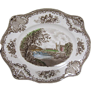Johnson Bros. Platter - Old Britain Castles - Cambridge - Multi Color