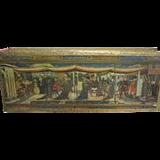 Vintage Italy Florentine Lidded Wooden Box Gilt - Gloves, Trinkets, Dresser