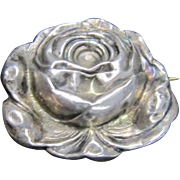 Art Nouveau Pin/Brooch Sterling Front