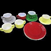 Children's Dishes - Anchor Hocking - 12 pieces