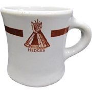 Hedge's Wigwam Coffee Mug