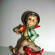 MI Hummel 5 Strolling Along Porcelain Figurine