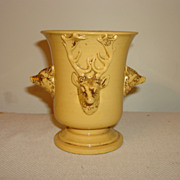 19th Century English Yellow Glazed Earthenware Cup